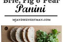 Paninis, sandwiches and wraps