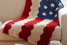 Crochet - Blankets / Crocheted blankets / by Stacy Farley