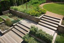 Парк. Лестницы