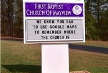 Funny Signs!