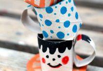 CRAFTS, MANUALIDADES, IDEAS CREATIVAS PARA RECICLAR TUBOS DE CARTÓN / Ideas para reciclar y reutilizar con creatividad tubos o rollo de cartón de papel higíenico, cocina,etc