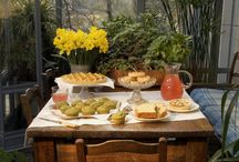 buffet pöydät