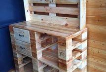 Möbel mit Holz Paletten