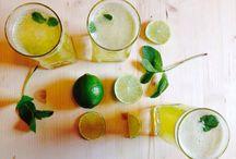 Lemon Juice, a la RawCoco / Lemon Juice cu Menta si Turmeric