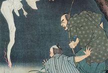 Japanese ghost YOKAI
