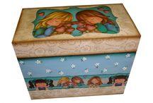 cajas / decoracion de cajas en mdf / by Maye Ramirez Noguera