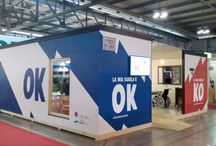 La mia scuola è OK/KO / L'installazione dedicata alla sicurezza scolastica di Cittadinanzattiva. Campagna itinerante www.lamiascuola.org