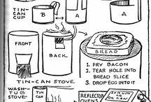 Tin Cans ♽ Ideas