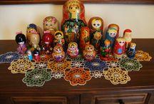Russian dolls - Babushka's / by Mandy Morrow