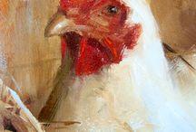 geschilderde dieren