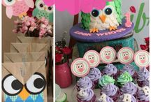 Owl party for kids(Ginevra 10 years old)
