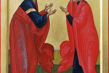 Αγιοι Ιωακείμ καί Άννα-Saint's Joakim and Anna.