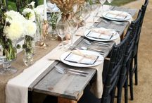 table scapes / by Cindy Messinger