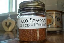 New Recipes - Spice, Seasoning, Mixes / Spices, seasonings, compound butters etc