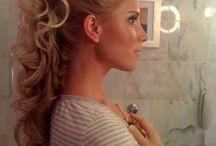 Hair for the Wedding #WeddingHair / Wedding Hairstyles we love. Award Winning Custom Wedding Dresses from WeddingDressFantasy.com CoutureDeBride.com. Gothic, Black, Red, and Modest Wedding Dresses Worldwide Shipping