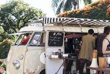 Cafe van food truck