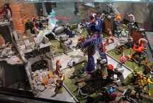 Action Figure Dioramas / by Andrew Baxter