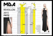 modelagem blusas e vestidos