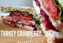 Sandwich Recipes ♡ / Sandwich and lunch recipes. Lots of easy to make recipes here! || sandwiches | sandwich ideas | sandwiches and wraps | sandwich recipes |