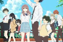 A Silent Voice / A guy gets bullied for being a bully, so, he decides to feed fish bread