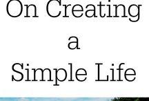 Creating a Life