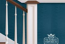 Interiors - Victorian Wall Paper / Hallway / Victorian Wall Paper / Hallway / Anaglypta wallpaper