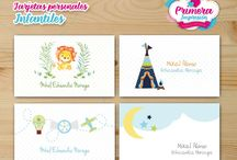 Tarjetas personales para niños