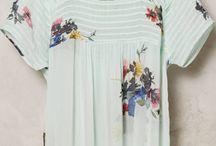 Floral Shirt@  Tops@ Blouse