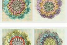 lovely crochet flowers