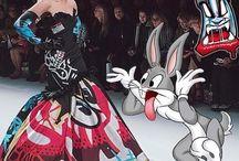 Cartoon Couture Moschino