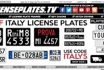 LicensePlates.TV / Screenshoots from our shop