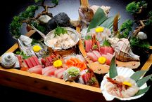 Don't be shy! Why not try some unusual sashimi?