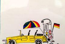 Drawings by Benedek