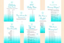 Baby Shower Beach Theme / by babyshowerideas4U.com