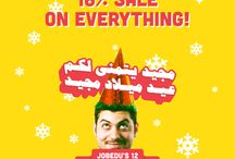3eed Majeed! / A new offer at our stores each day for 12 days!