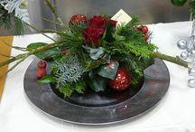 bloemschikken kerst