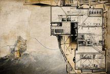 ARQUITECTURA / Dibujos arquitectónicos para la inspiración / by Nadia Sousa Borrajo