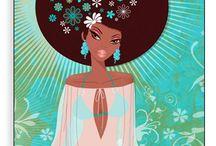 Black Girl Illustrations