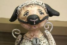 Primitive Dolls / by Lisa A Wolf