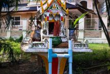 Shrines of Thailand / Small and large shrines found all over Thailand @facebook.com/craighullphoto