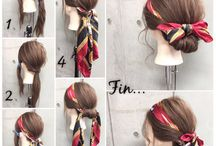 Šatky do vlasov