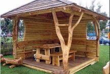 Kerti bútor / Kerti bútor, kerti pavilon, rönkbútor, kerti fahidak