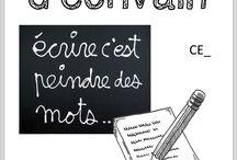 Écrire cm2