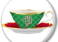Tea Theme Tea Party and Bridal Favors / Tea Theme Tea Party and Bridal Favors including Tea Magnets, Miniature Teapots, Tea Cup and Tea Spoon Favors and Tea Stationery