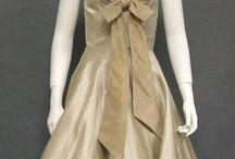 Vintage Tan Dresses & Gowns / Is neutral more to your liking? Here are some fabulous tans done in vintage.