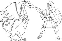 St. George's Day / Lots of fun kids activities for St. George's Day, England's patron saint.