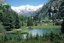 panorami Valle d'Aosta views Aosta Valley