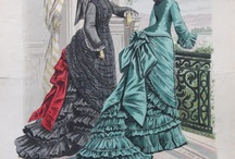 1800s Fashion  / by Delightfully Peculiar