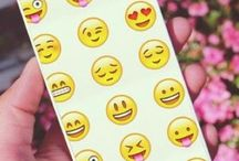 Cute emoji phone case
