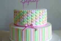 Tortas Decoradas / Tortas Infantiles ♥ Tortas primer añito ♥ Tortas de Bautismo ♥ Tortas de cumpleaños ♥ Birthday Cake ♥ Baptism Cake ♥